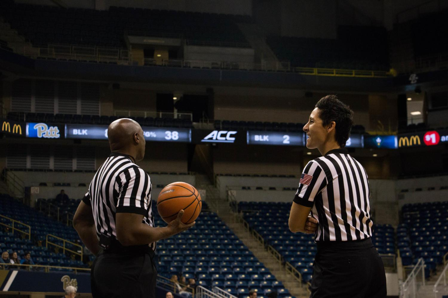 With the ACC's new refereeing scheduling policies, referees will have to travel less to cover more games. (Photo by Christian Snyder | Editor in Chief)