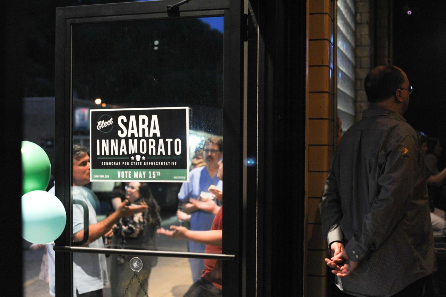 Sarah Innamorato won against incumbent Democrat Dom Costa in the race for Pennsylvania's 21st District's State Rep. (Photo by Anne Amundson | For The Pitt News)