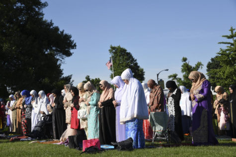 Islamic community comes together to celebrate Eid al-Fitr