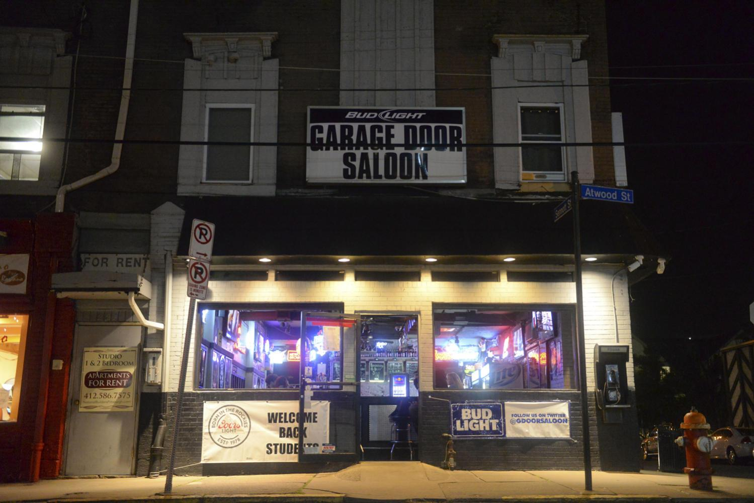 Two men are suing Pitt, Michael Rosfeld and Garage Door Saloon over an alleged incident of excessive force in December. (Photo by Anna Bongardino | Visual Editor)