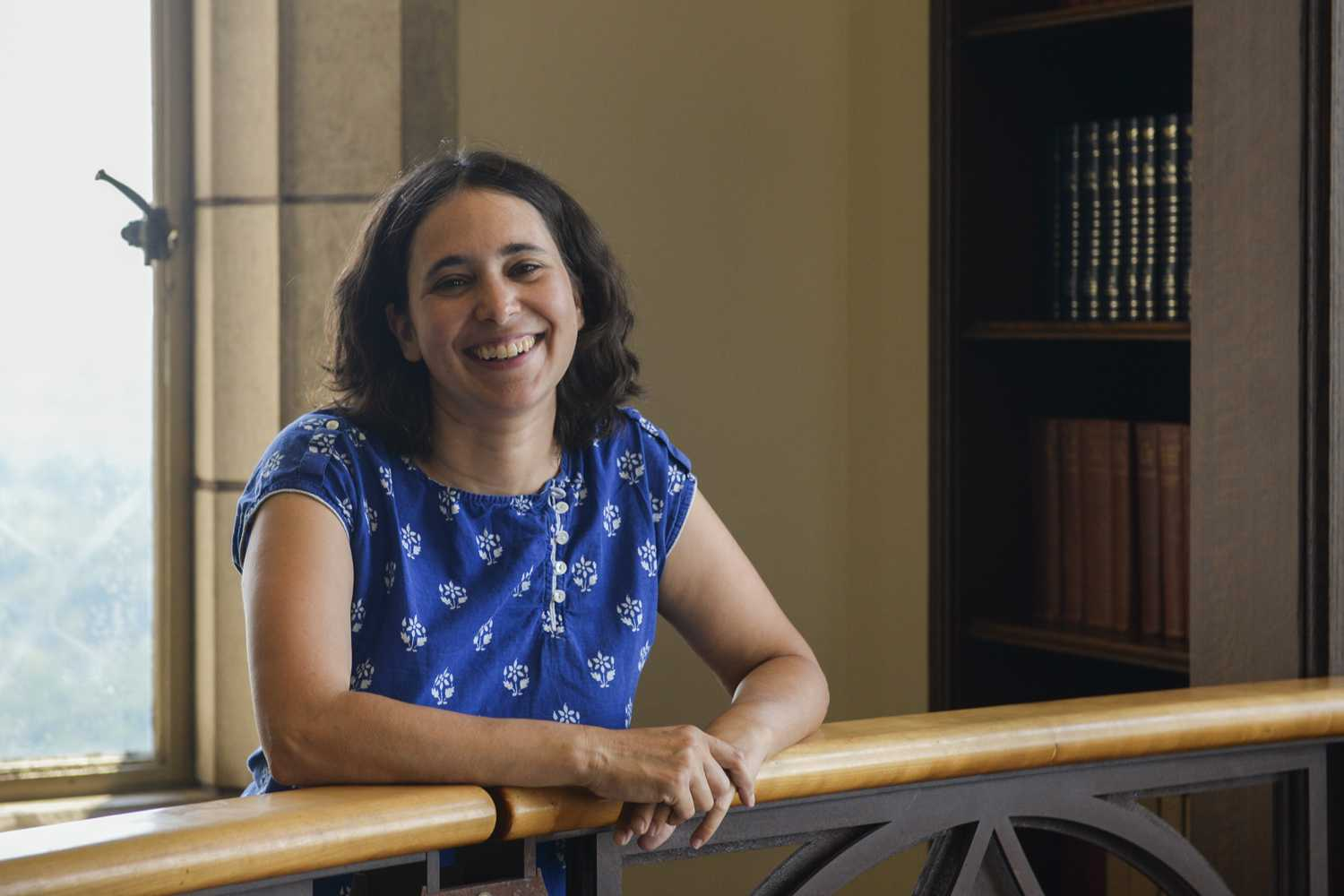 "Pitt English professor Anjali Sachdeva published a collection of nine short stories titled ""All the Names They Used for God"" in February 2018. (Photo by Jon Kunitsky 