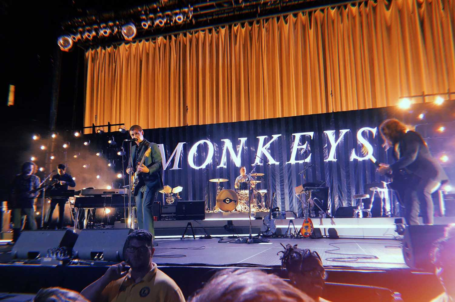 The Arctic Monkeys performed at the Petersen Events Center July 31. (Photo courtesy of Abbie Tesfay)
