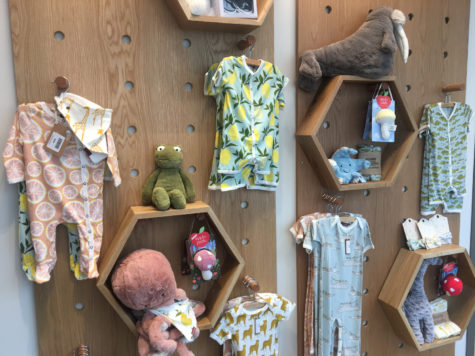 he main products at Maggie and Stella's include baby clothing, home decor and stationery. (Photo by Grant Burgman | Contributing Editor)