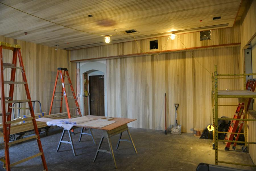 The Philippine nationality room is currently under construction on the third floor of the Cathedral has a dedication date set for June 2019. (Photo by Jon Kunitsky | Staff Photographer)