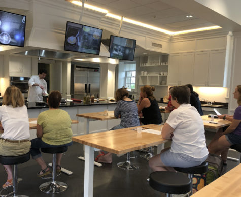 Cooking at the conservatory: Phipps offers cooking classes
