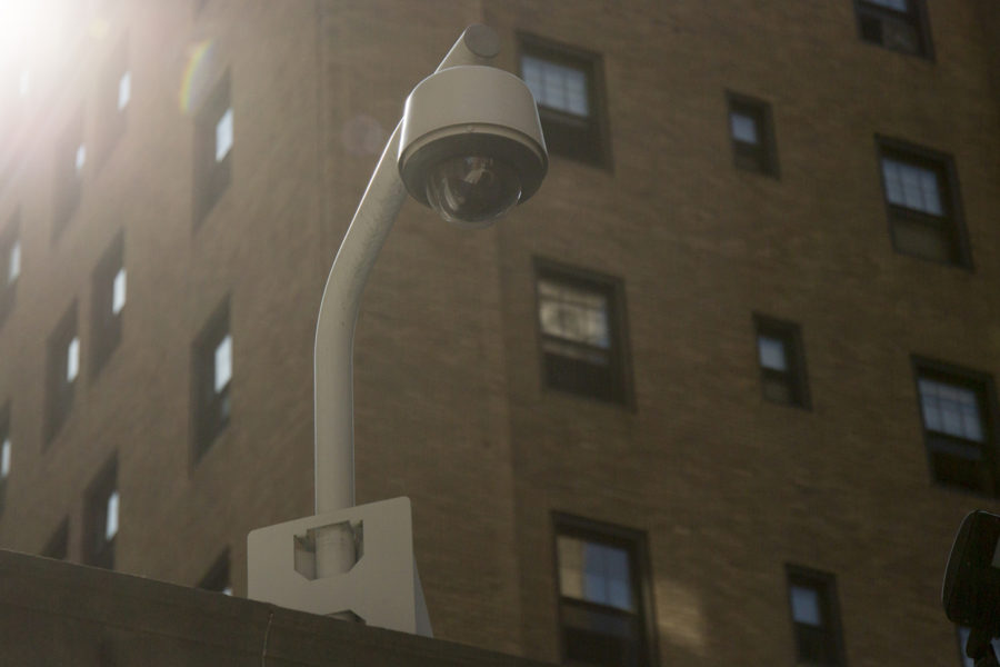 Pitt+contributed+%2415%2C000+to+the+installation+of+60+surveillance+cameras+throughout+Oakland.+%28Photo+by+Thomas+Yang+%7C+Assistant+Visual+Editor%29