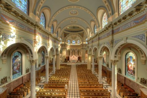 Ronald Gainer, a bishop at Harrisburg's Cathedral Church of Saint Patrick, will hold a Service of Repentance after he was named in the Pennsylvania grand jury report on sexual abuse. (Photo via Wikimedia Commons)
