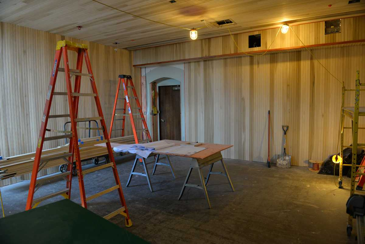 The Philippine Nationality room, currently under construction, will join the three existing East Asian heritage room. (Photo by Jon Kunitsky | Staff Photographer)