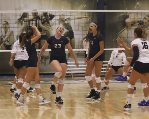 Weekend Recap: Volleyball aces weekend games, remains undefeated