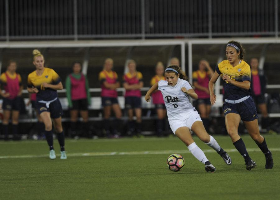 The Pitt women's soccer team lost to the Kent State Golden Flashes 1-0 last September. (TPN file photo)