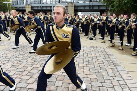 Pitt Band preps for 2018 performances