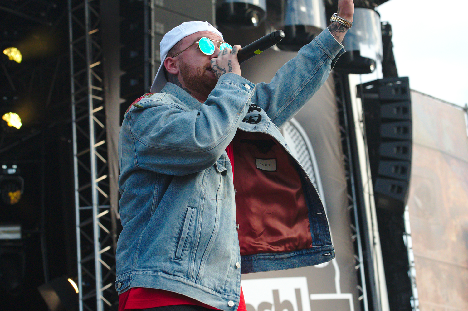 Pittsburgh native rapper Mac Miller performed at Splash! Festival in Germany last year.