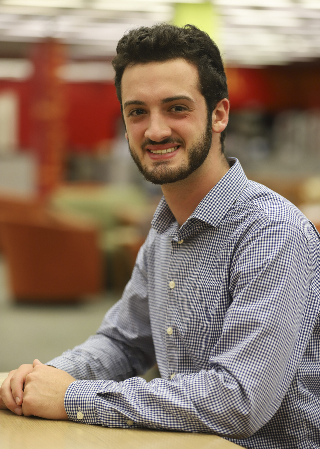Senior computer engineering major Alec Cantor works 40 hours a week for his co-op with Mine Safety Applications for the second semester in a row.