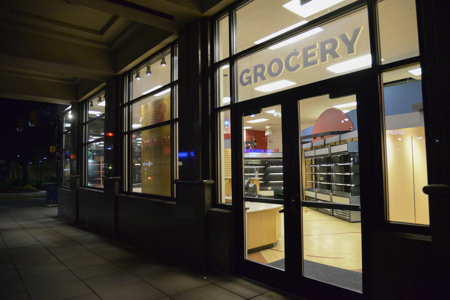 Pitt will open a pop-up grocery store in the old New Balance storefront at 3810 Forbes Ave. on Sept. 24.