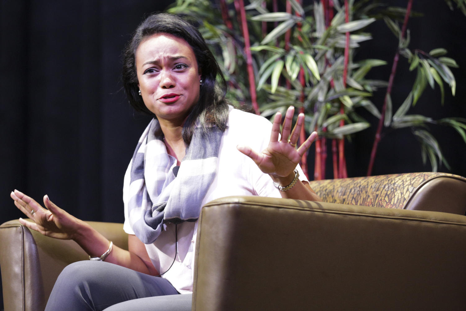 """The Fresh Prince of Bel-Air"" actor Tatyana Ali spoke to a crowd of more than 50 people in the William Pitt Union Assembly Room on Sunday."
