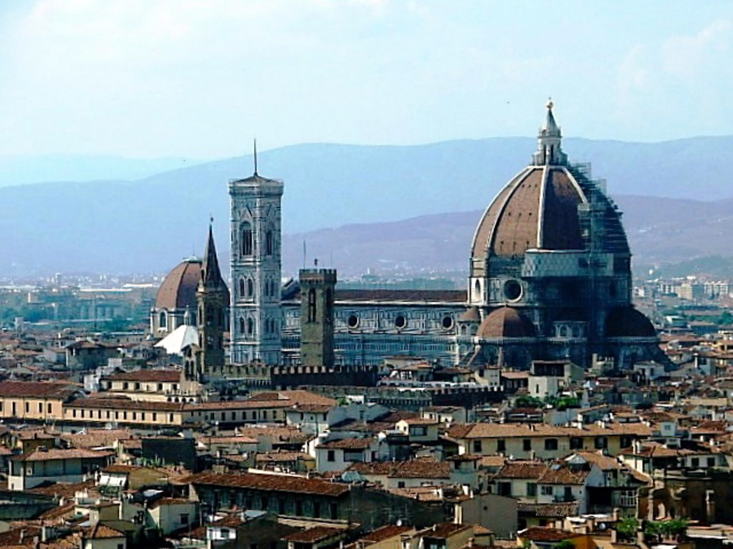 The Florence Cathedral in Florence, Italy. (Image via Wikimedia Commons)