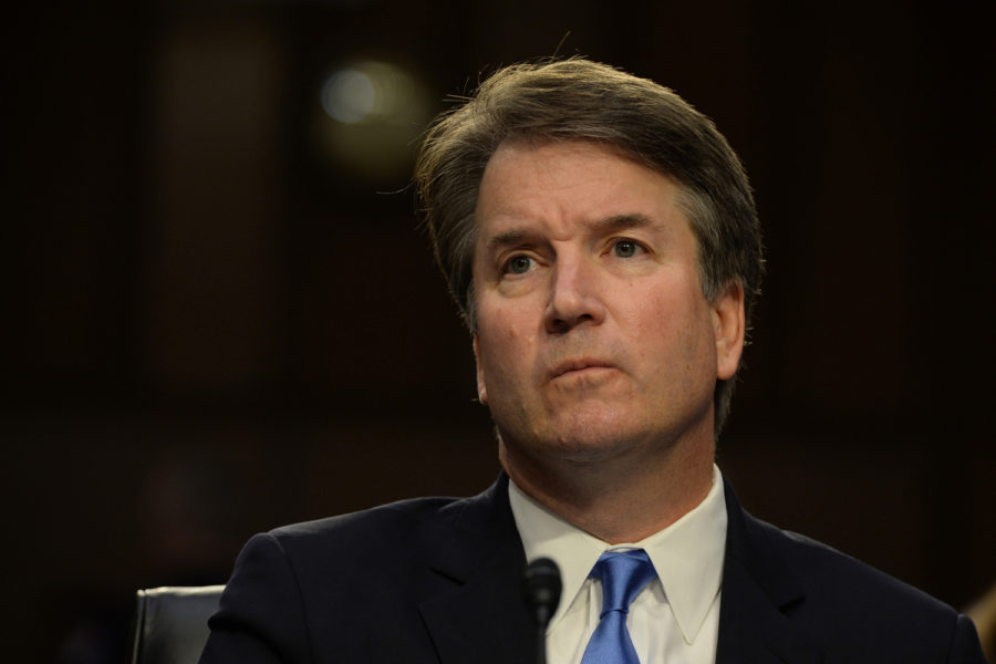 Supreme+Court+Associate+Justice+nominee+Brett+Kavanaugh+at+his+confirmation+hearing+before+the+Senate+Judiciary+Committee+in+the+Hart+Senate+Office+Building+in+Washington%2C+D.C.%2C+on+Wednesday%2C+Sept.+5.+%28Christy+Bowe%2FGlobe+Photos%2FZuma+Press%2FTNS%29