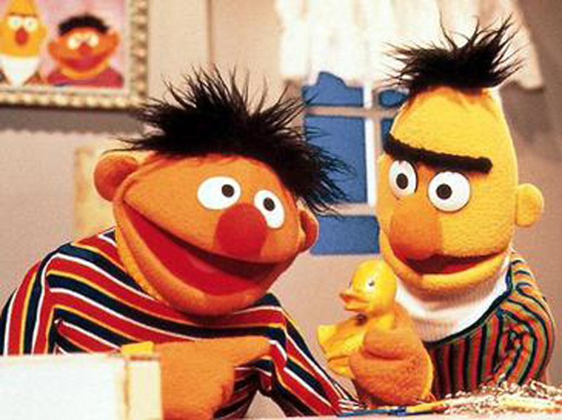 Bert+and+Ernie+perform+in+a+scene+in+the+1978+TV+special%2C+%E2%80%9CChristmas+Eve+on+Sesame+Street.%E2%80%9D