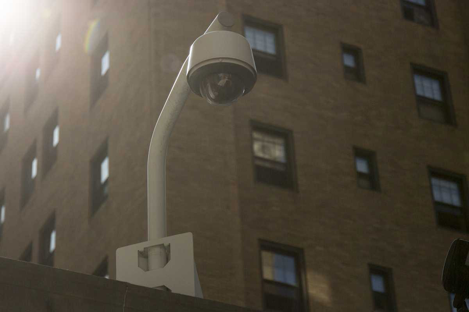 Pitt contributed $15,000 to the installation of 60 surveillance cameras throughout Oakland.