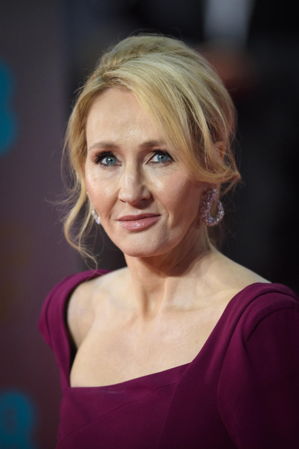 JK Rowling attended the EE British Academy Film Awards held at the Royal Albert Hall in London, UK on Feb. 12, 2017.