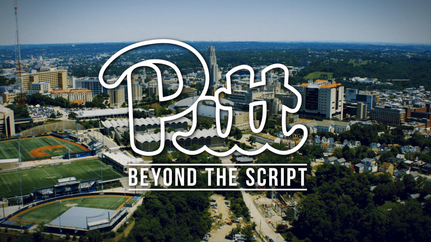 "Pitt Athletic's ""Pitt: Beyond the Script"" TV show is the first sports show Pitt has produced in over a decade. (Photo courtesy of Pitt Athletics)"