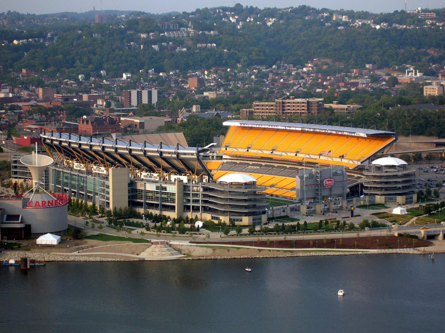 Tailgating along the North Shore will be restricted for Saturday's Pitt vs. Penn State game. (Image via Wikimedia Commons)