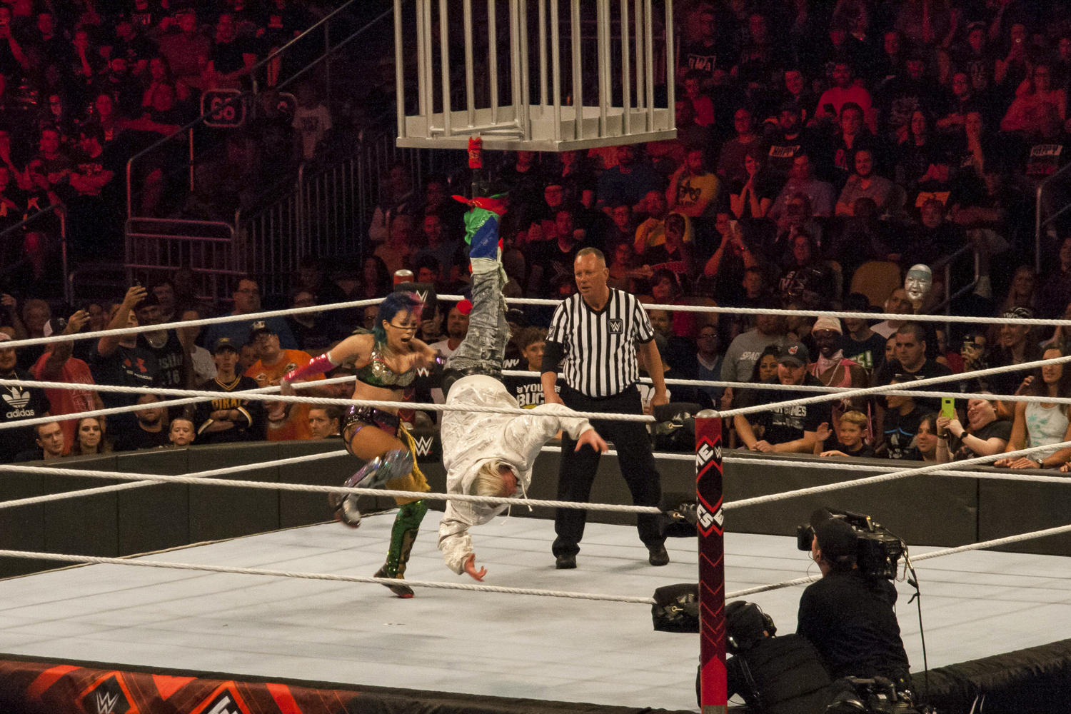 WWE pay-per-view Extreme Rules event was held at PPG Paints Arena in Pittsburgh July 15.