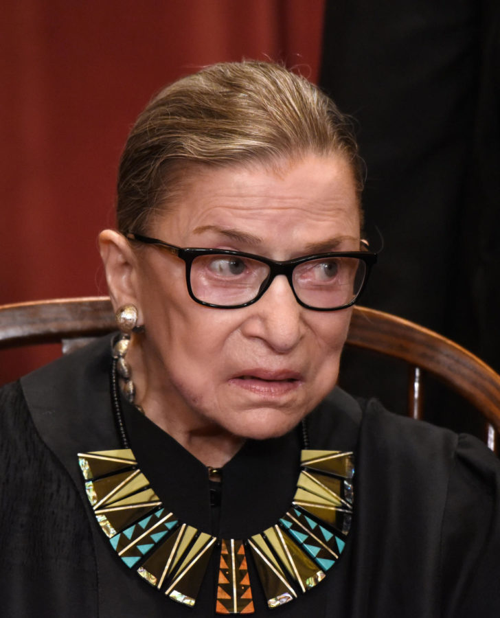 Associate+Justice+Ruth+Bader+Ginsburg+poses+during+a+group+photograph+at+the+Supreme+Court+building+on+June+1+2017+in+Washington%2C+D.C.+%28Olivier+Douliery%2FAbaca+Press%2FTNS%29