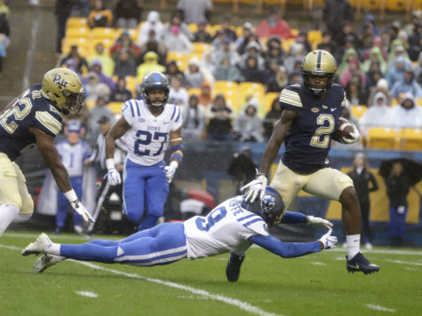 Photos: Pitt football 54-45 victory over Duke