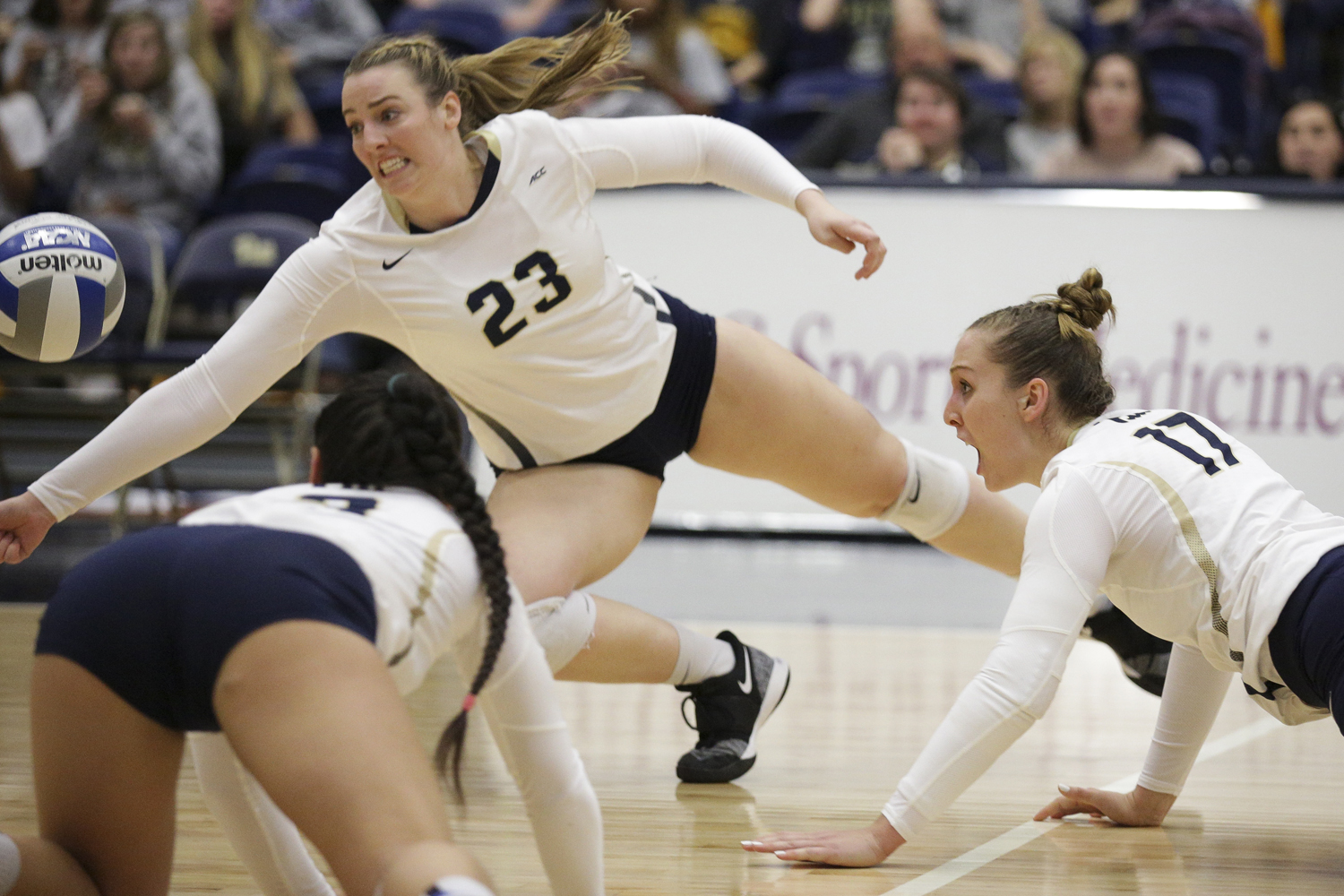 Pitt Volleyball lost its first match of the season, 3-1, this weekend to Duke.