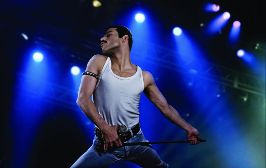 Rami+Malek+as+rock+icon+Freddie+Mercury+in+%22Bohemian+Rhapsody.%22+The+%22Mr.+Robot%22+star+already+bears+a+physical+similarity+to+late+Queen+frontman+Freddie+Mercury%2C+but+with+the+right+clothes+and+that+famous+%27stache%2C+casual+viewers+may+be+hard-pressed+to+tell+the+difference.++%28Nick+Delaney%2FTwentieth+Century+Fox%29