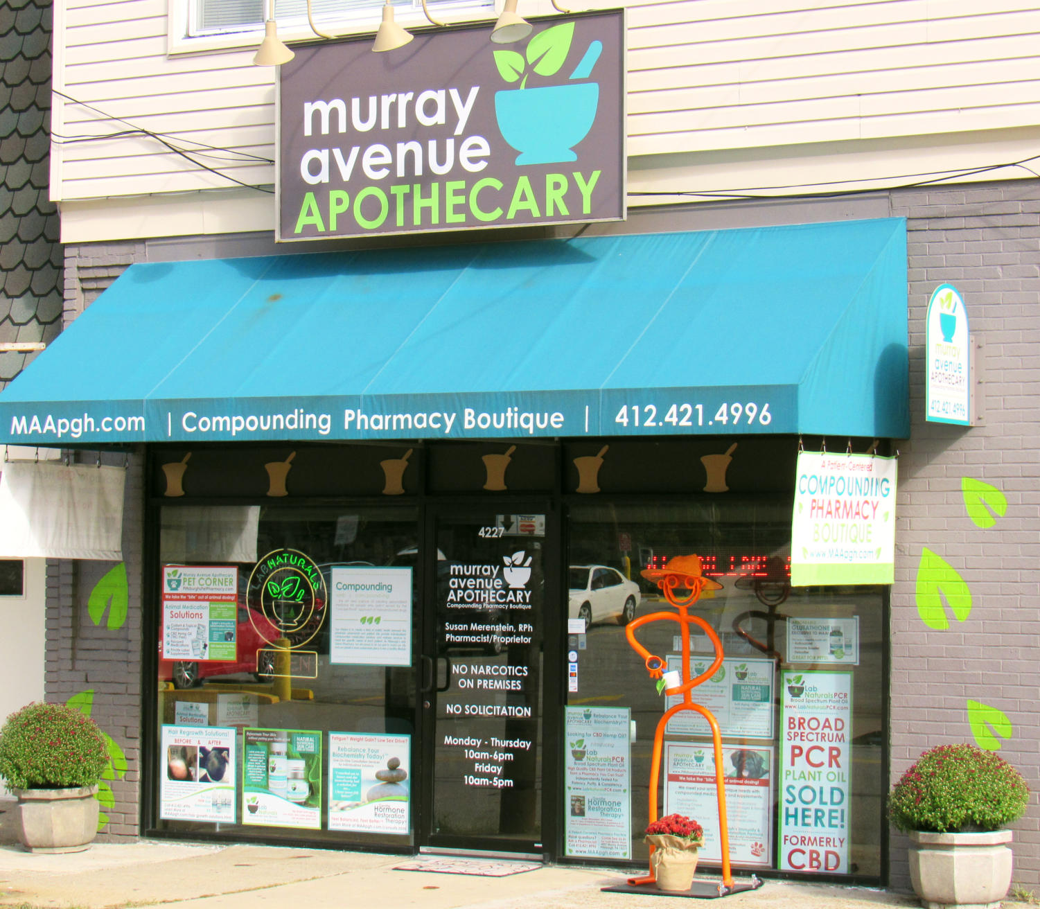 Murray Avenue Apothecary is one of Pittsburgh's foremost providers of CBD products.