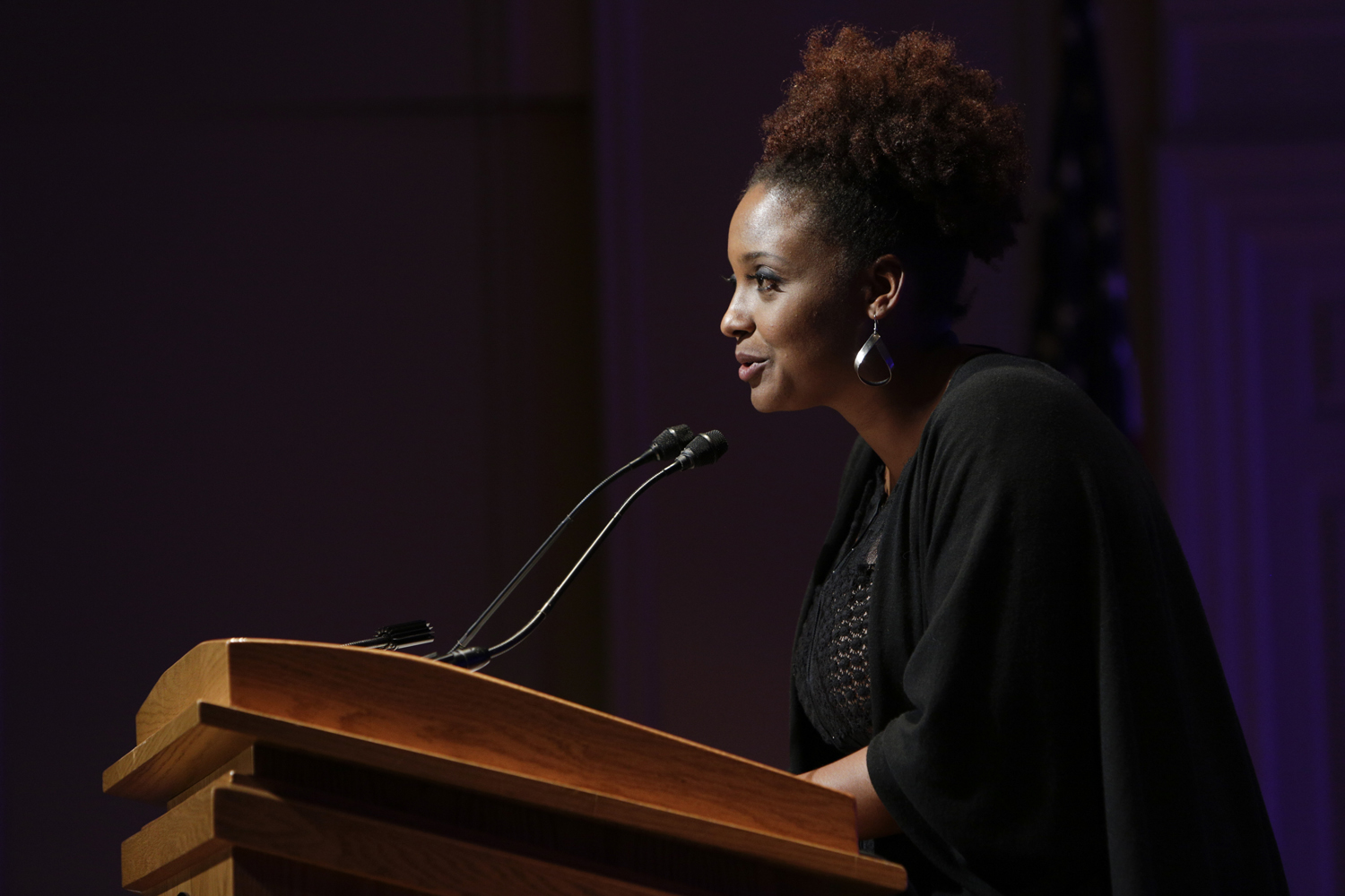 Poet Laureate Tracy K. Smith delivers the opening reading of her 2017-18 tenure.