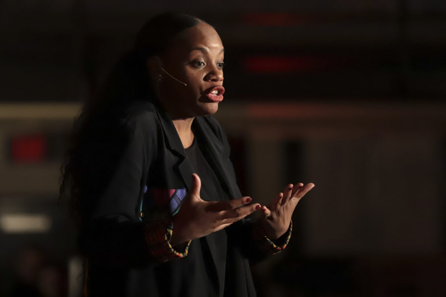 "TEDxPittsburghWomen leaves audience with definition of ""showing up"""