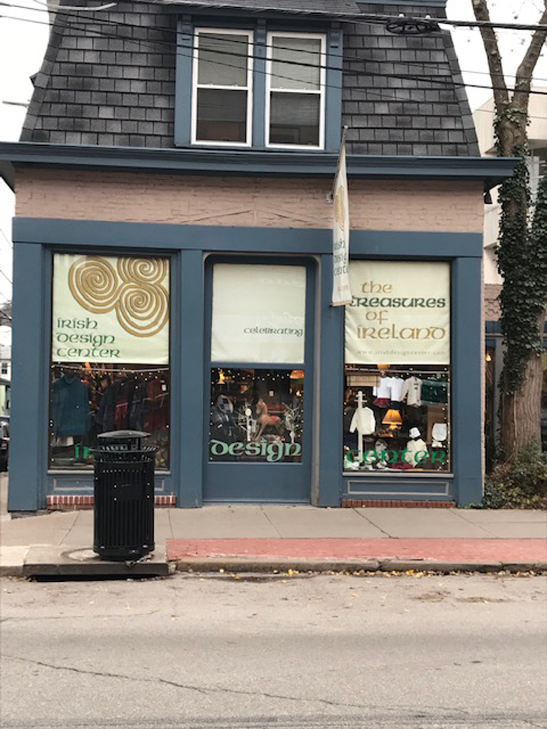 Irish Design Center is located on S. Craig St. in Oakland.