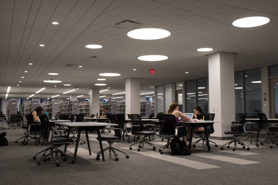 The+University+completed+renovations+to+the+quiet+floor+of+Hillman+for+the+fall+2018+semester.
