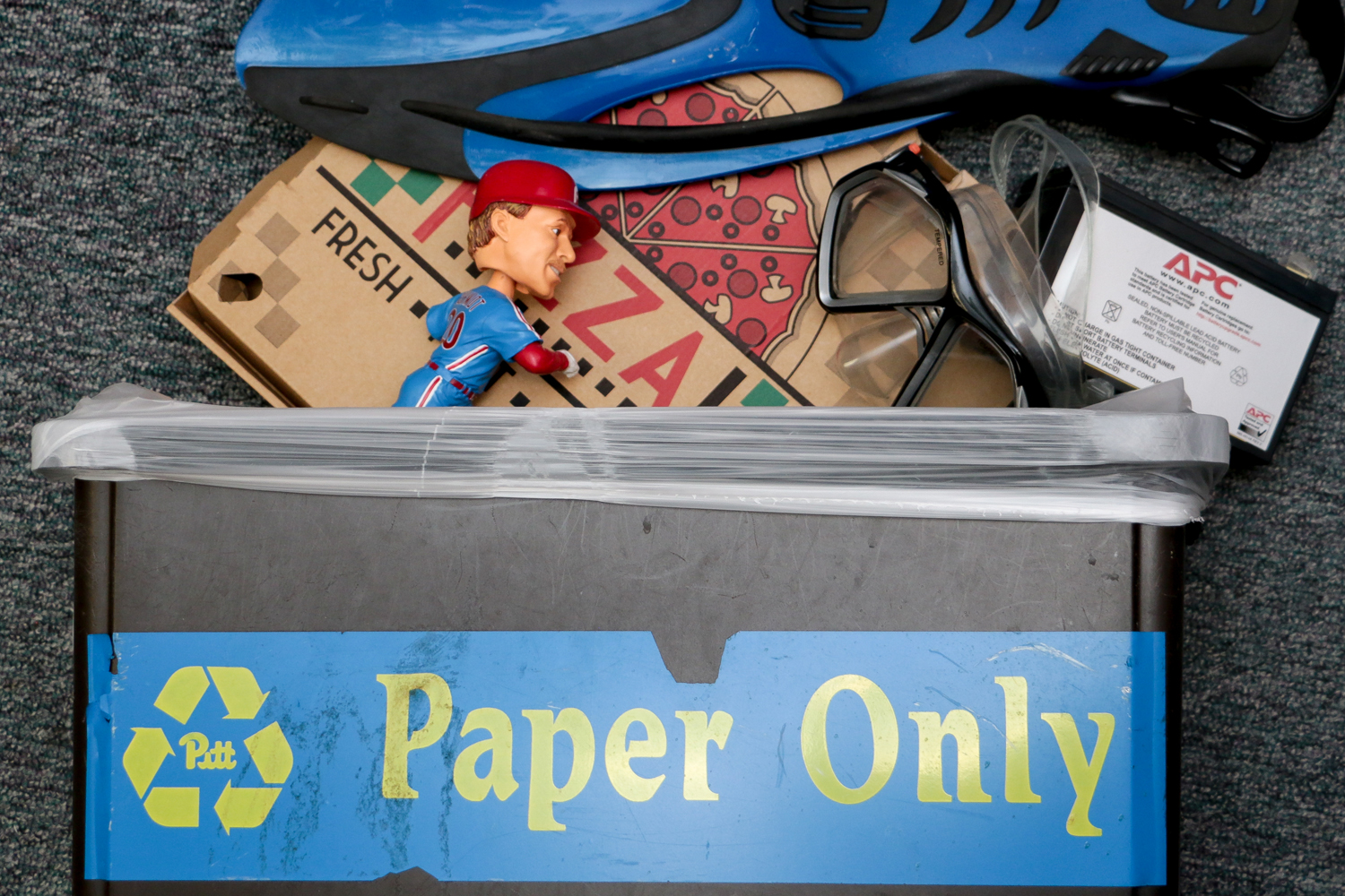 About 25 percent of all recycling picked up by waste management is sent straight to the landfill due to contamination, according to a study by The New York Times.