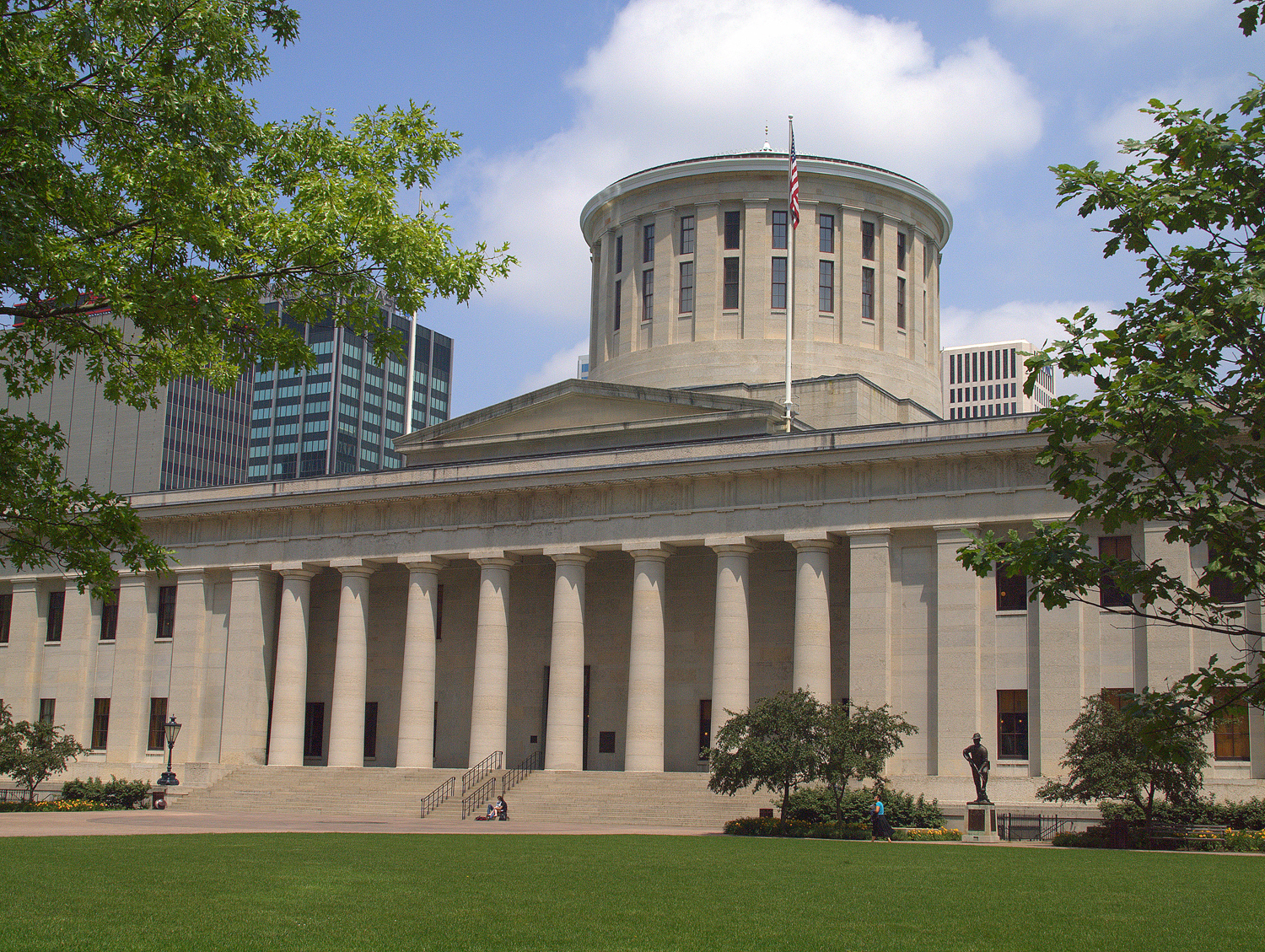 Ohio's capitol building in Columbus houses the state's Congress and is where legislation such as House Bill 565 are proposed.