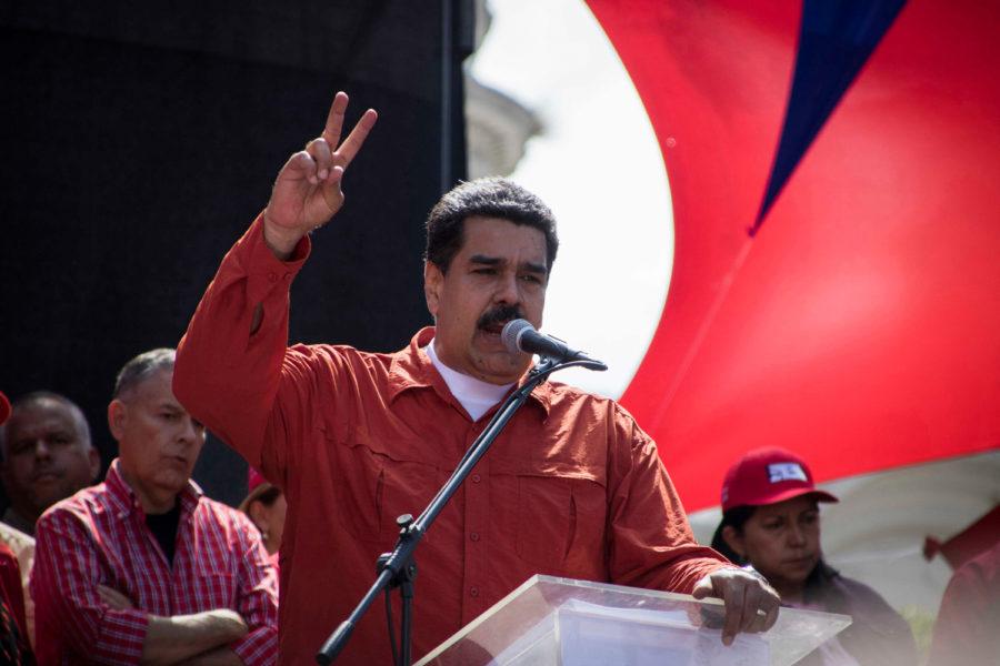 Venezuelan+President+Nicolas+Maduro.