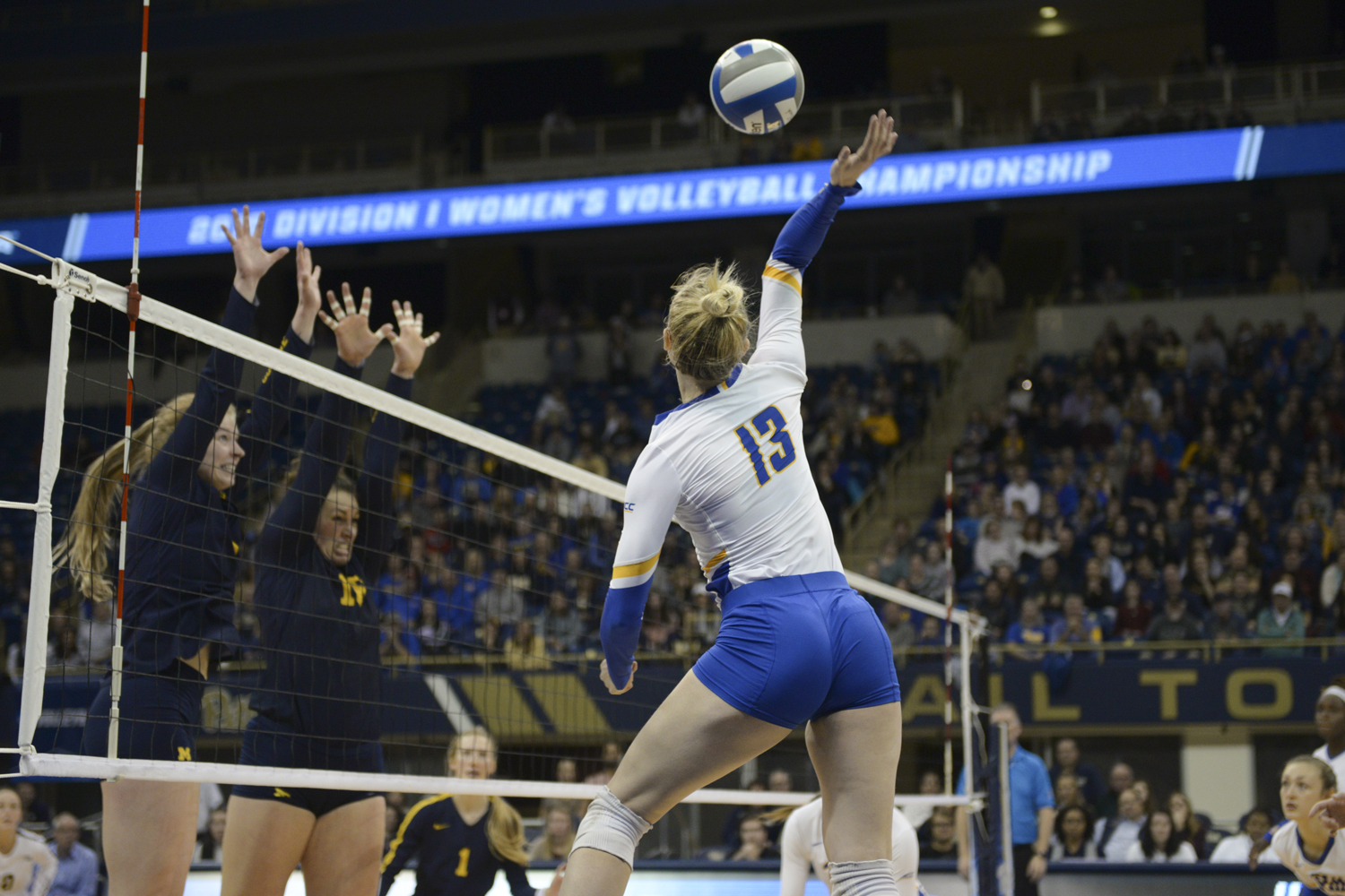 Panthers' volleyball ended the season with a 30-2 record — succumbing to Michigan in the second round of the NCAA Tournament at the Petersen Events Center Saturday night.