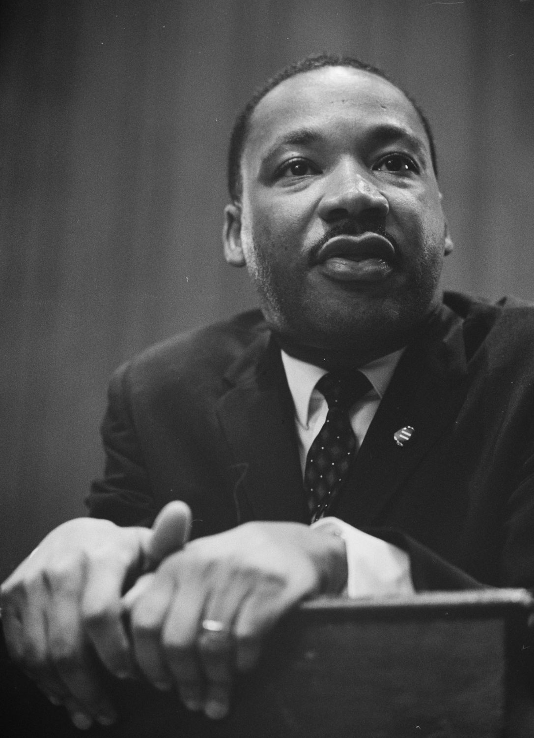 During the interfaith service praising Martin Luther King Jr. on Tuesday night, art, music and poetry were used to bridge different faiths.