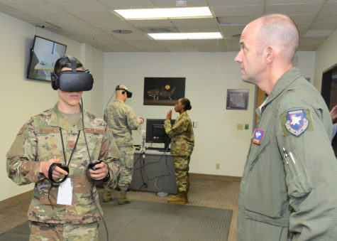 ROTC uses grant for virtual reality