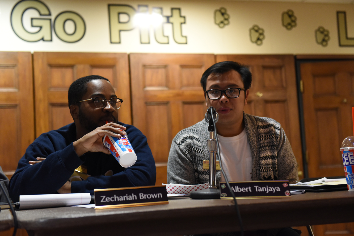 Albert Tanjaya and Zechariah Brown are running opposing presidential campaigns in SGB's 2019 election season. Both candidates launched social media campaigns on Wednesday, the official start of campaign season.