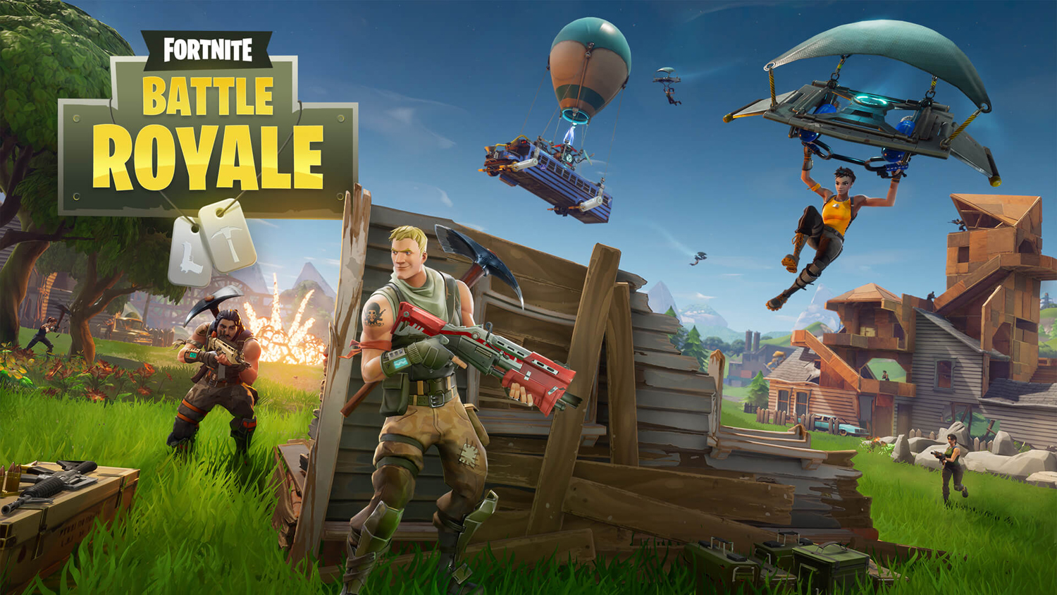 """Battle Royale"" is a mode used in online games including ""Fortnite"" and ""Player Unknown Battlegrounds."" r"