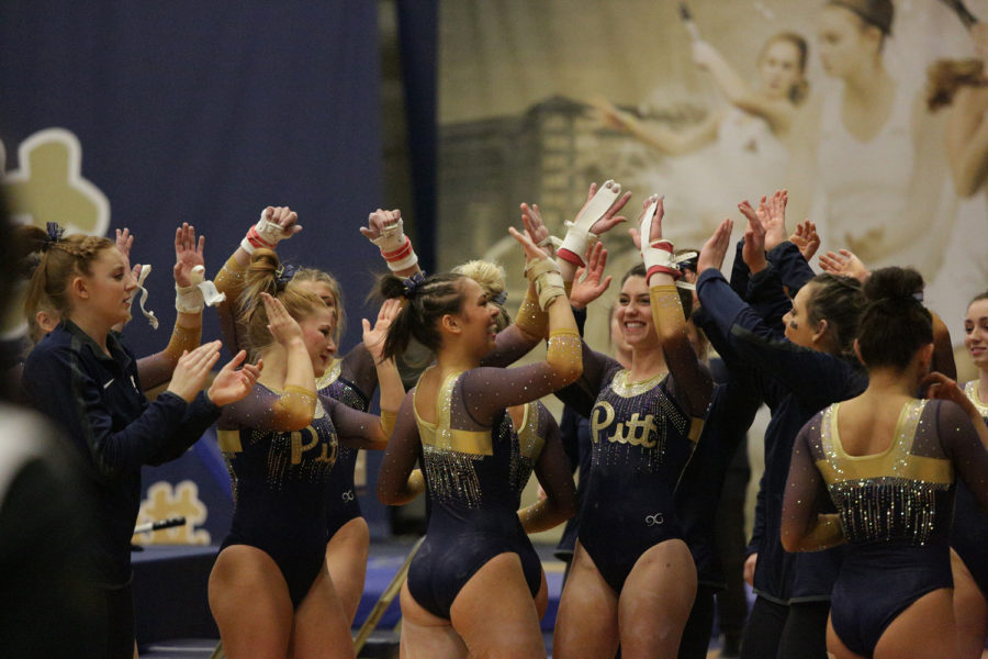 One of the major differences between college and club gymnastics is that in college gymnastics, gymnasts compete for a team rather than individually.