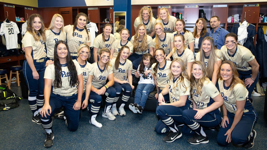 The+Pitt+softball+team+signed+16-year-old+Team+IMPACT+recruit+Rylee+DiTullio+last+Monday.+Team+IMPACT+is+a+national+nonprofit+organization+that+connects+children+with+serious+or+chronic+illnesses+with+college+athletic+teams.%0A%0A