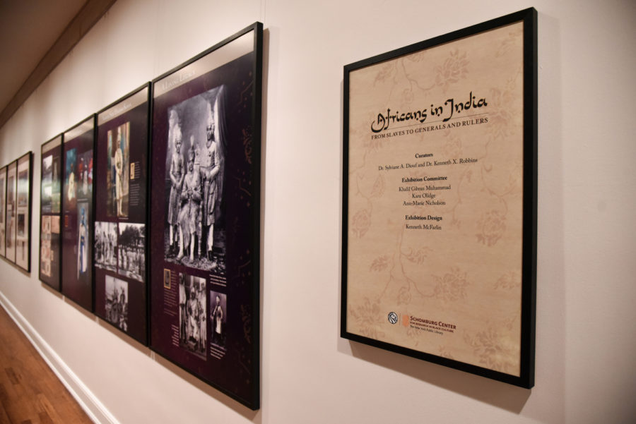 "The ""Africans in India"" exhibition is open at Pitt until March 21."