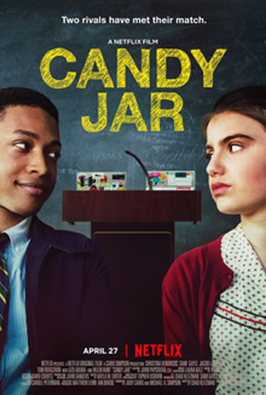 """Candy Jar"" release poster."