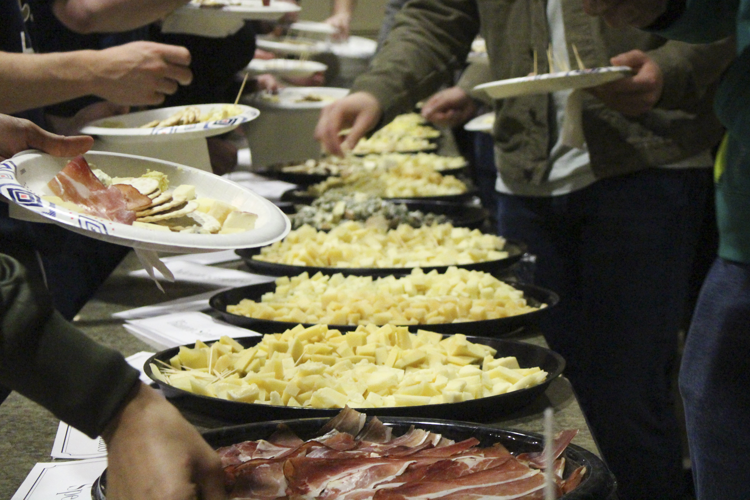Pitt Italian Club hosted its eighth annual Italian Cheese Night on Wednesday in the O'Hara Student Center Ballroom.