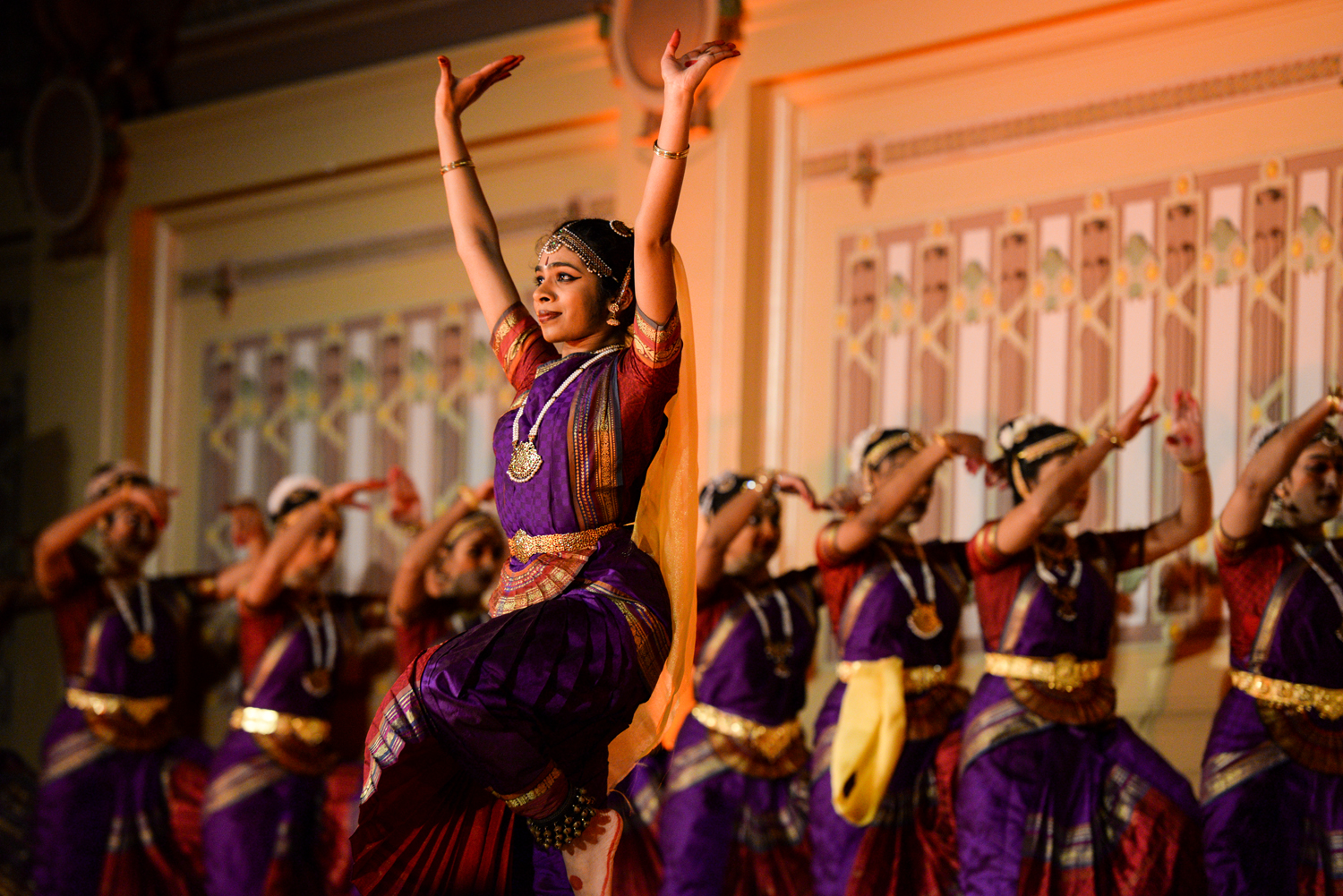 Natya from UC Berkeley took first place on Friday at Dhirana, the University of Pittsburgh's annual Indian classical dance competition.